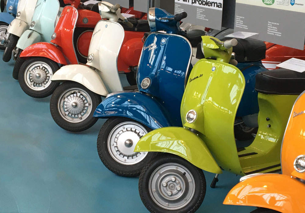 ICONIC VEHICLE DESIGN – THE VESPA