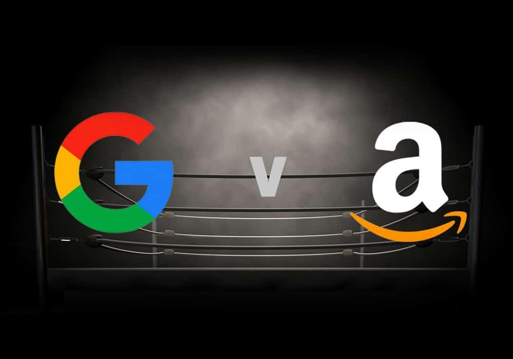 The big ecommerce battle: Google shopping vs. Amazon advertising